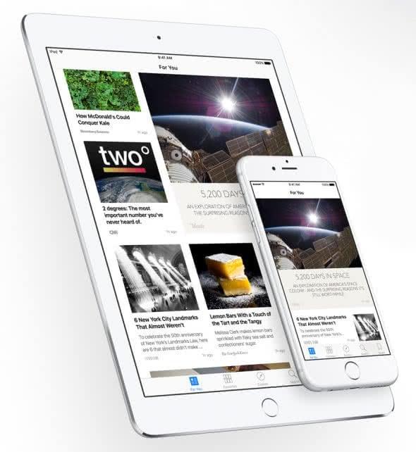 iOS 9 News App verwenden