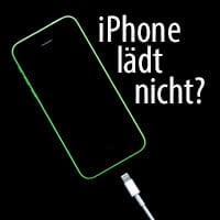 iphone x läd nicht mehr