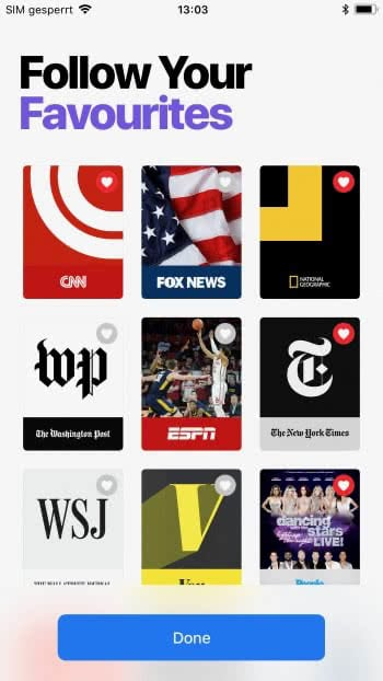 iPhone News App