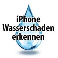 iPhone Wasserschaden erkennen