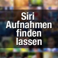 Siri - Fotos und Videos finden basierend auf Datum, Ort und Albumtitel (iOS 9)