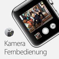 Apple Watch als Kamera Fernbedienung verwenden