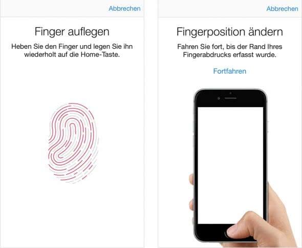 Fünf-Fingerabdruck-Limit umgehen