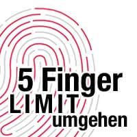 Touch ID - Fünf-Fingerabdruck-Limit umgehen