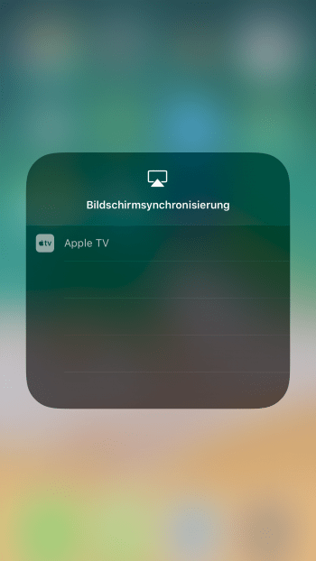 AirPlay aktivieren - iPhone Airplay einrichten & starten