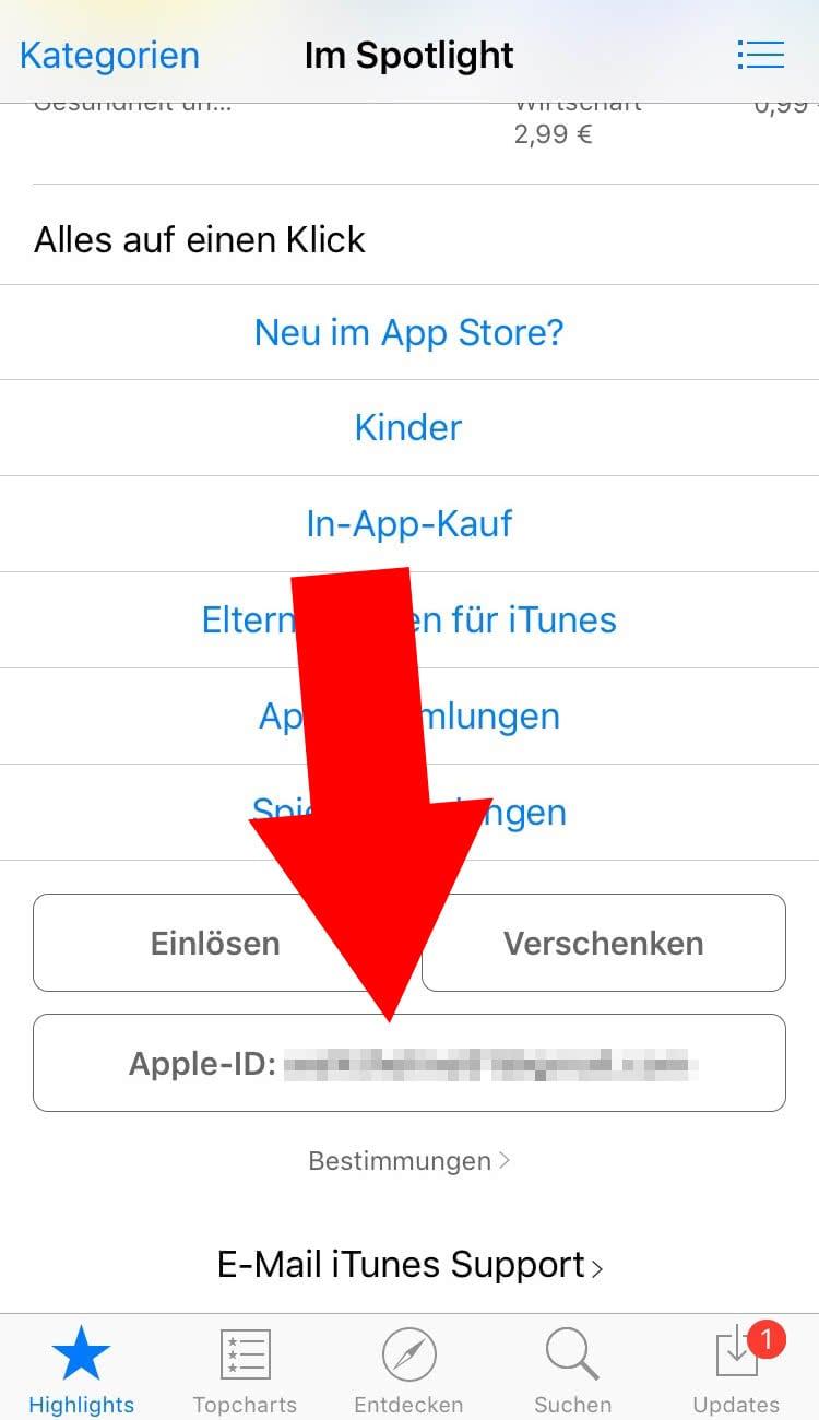 Im App Store das Land wechseln – einfach ändern!