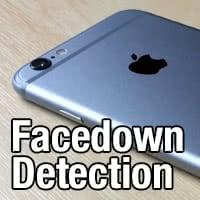 Stromsparen mit Facedown Detection
