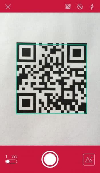 QR-Codes scannen mit dem iPhone