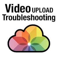 iCloud-Fotomediathek Video-Upload hängt