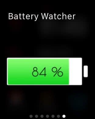 iPhone Batteriestand auf Apple Watch checken