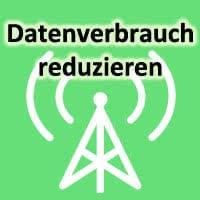 iPhone Datenverbrauch reduzieren Logo