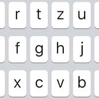 Tasten mit Kleinbuchstaben auf Tastatur ausschalten