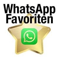 WhatsApp Nachrichten, Fotos und Videos als Favoriten speichern