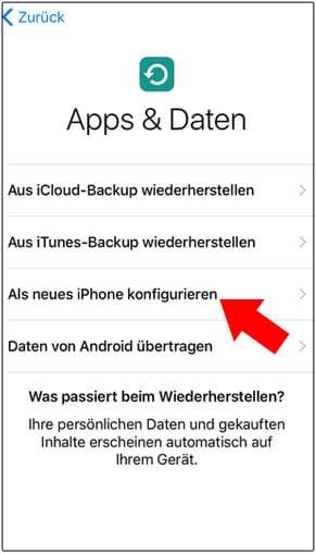 update apps iphone geht nicht