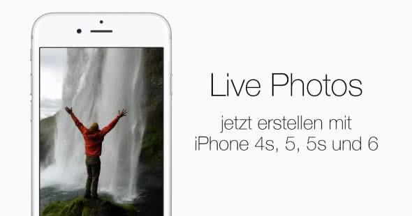 Live Photos mit JEDEM iPhone erstellen