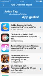 App Deal des Tages Screenshot