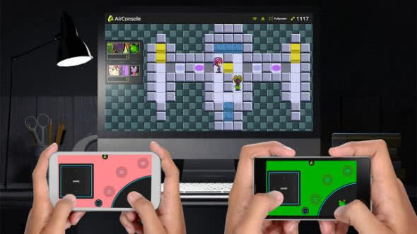 Oldschool-Games spielen und iPhone als Gamepad verwenden