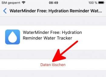 Datenreste von Apps aus iCloud löschen