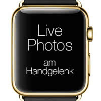 Live Photos als Watch Face verwenden