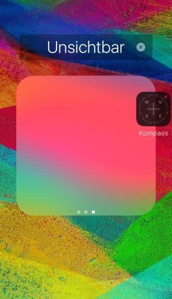 Apps unsichtbar machen am iPhone, iPad & iPod