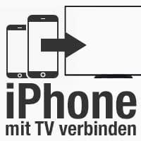 iPhone mit Fernseher verbinden, Fotos & Videos streamen