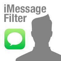 iMessages von unbekannten Absendern filtern und melden