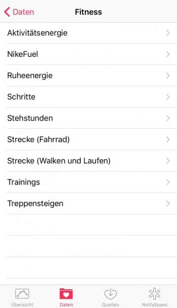 Gesundheit und Trainingsfortschritt effizienter überwachen mit Health App