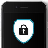 iPhone Schloss Logo