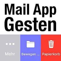 Streichgesten in Mail App anpassen