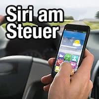 Am Steuer Nachrichten lesen und schreiben mit Siri