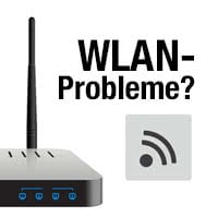 WLAN-Probleme beheben am Router