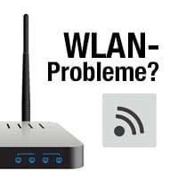 WLAN-Probleme beheben am Router