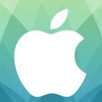Apple Pressekonferenz Logo