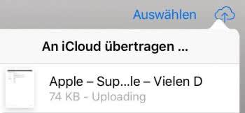 iCloud für iBooks auf allen Geräten aktivieren