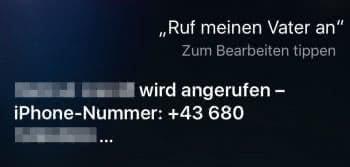 Beliebige Nummer trotz gesperrtem iPhone anrufen