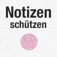 Notizen mit Passwort oder Touch ID schützen