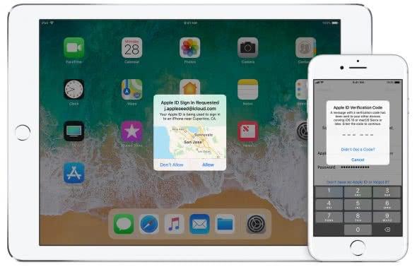 Apple-ID: Zweistufige Authentifizierung aktivieren