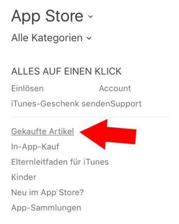 app store löschen