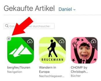 App Store Verlauf löschen & Einkäufe ausblenden