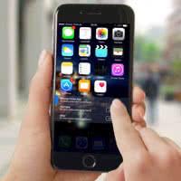 iOS 10-Konzept Logo