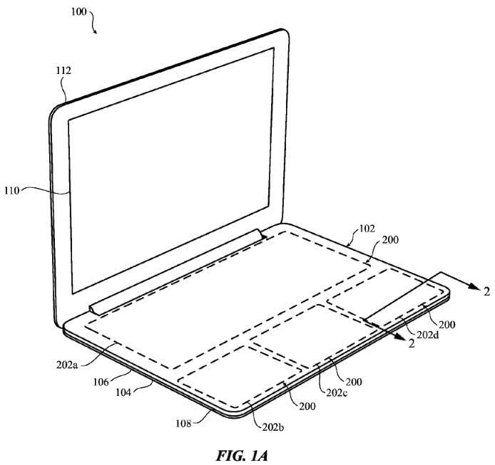 Apple-Patent: MacBook mit Force-Touch-Tastatur