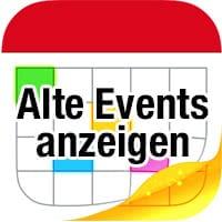 Ältere Kalender-Ereignisse anzeigen & synchronisieren