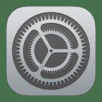 iOS Einstellungen Icon