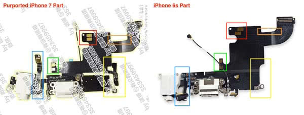 iPhone 7 vs. iPhone 6s Kopfhöreranschluss Vergleich
