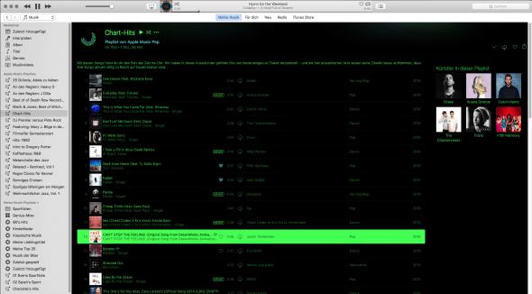 iTunes hat einen Fehler, Entwickler rücken aus