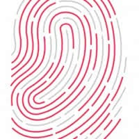 Touch ID Fingerabdruck Logo