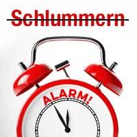 Wecker: Schlummern deaktivieren