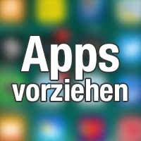 Reihenfolge von App-Downloads und -Updates verändern