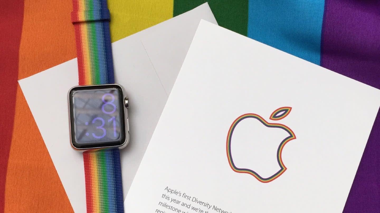 Apple Watch Armband anlässlich der LGBT Pride Parade