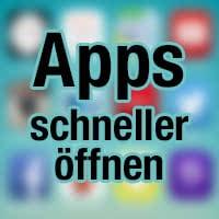 Apps schneller öffnen mit Siri & Spotlight